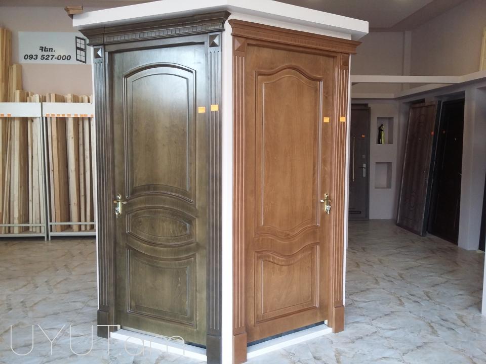 Միջսենյակային դռներ տարբեր գույների և չափերի