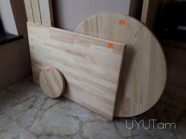 Սեղանի և աթոռի երեսներ պատրաստված փայտից