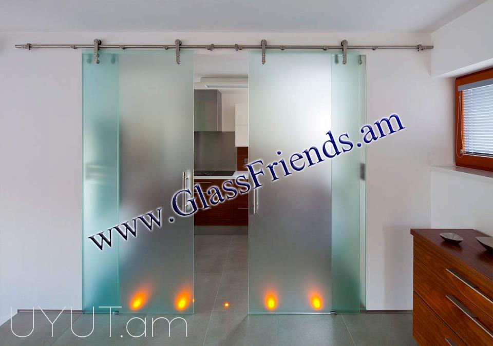 Սլայդ դռներ (slaid drner) - Glassfriends