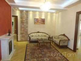 4 սենյականոց գեղեցիկ բնակարան Բուզանդի փողոցում, Կենտրոն, 210մք, 11րդ հարկ