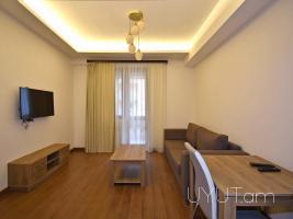 2 սենյականոց օրավարձով բնակարան Բուզանդ Տերյան խաչմերուկի մոտ, կենտրոն, 11րդ հարկ