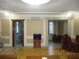 2 սենյականոց վարձով բնակարան կենտրոնում, Թումանյան փողոց. 2րդ հարկ