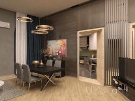 Արաբկիր, 3 սենյականոց օրավարձով գեղեցիկ բնակարան Բաբայան փողոց, 5րդ հարկ