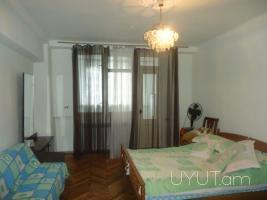 Վարձով բնակարան Մոսկովյան փողոցում, 2 սենյակը ձևափոխած 3-ի, կենտրոն, 8րդ հարկ