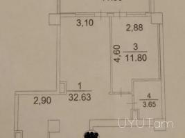 2 սենյականոց բնակարան Դալմա Ծիծեռնակաբերդի խճուղի 60մք 6ՐԴ ՀԱՐԿ