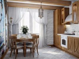 Խոհանոցի սեղան-աթոռ
