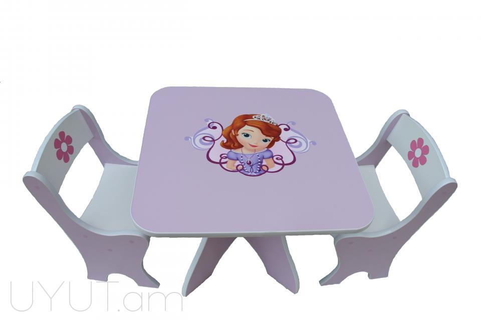 Սեղան, աթոռ Sofia