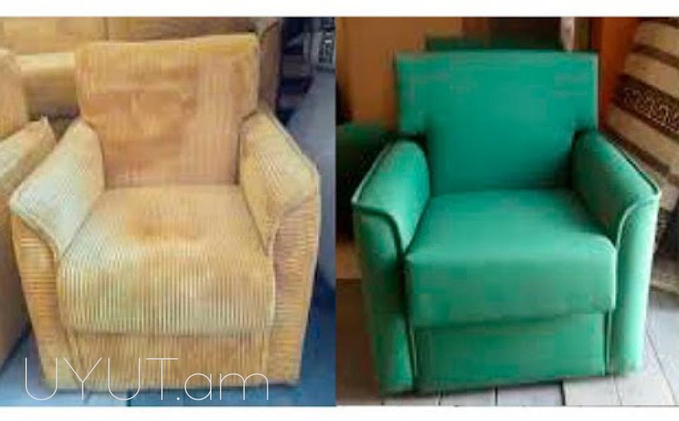 Բազմոցների և բազկաթոռների վերանորոգում ու պաստառապատում - L'Grace Furniture